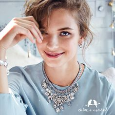 It's Time to Sparkle and Shine with Chloe + Isabel! Statement Necklaces for the Holiday Season.  Shop my online boutique here: www.chloeandisabel.com/boutique/adrienne49