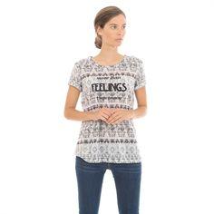 Pimkie.es : Casual y cool, te cautivará esta camiseta con mensaje.