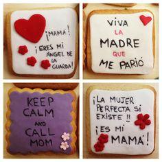 Madre no hay más que una! Y deberíamos decirle que le queremos tooooodos los días! Y con estas #galletasconfrases seguro que aciertas!  #villabakery #villabakeryonline #diadelamadre #madrenohaymasqueuna #tequieromama #regalosunicos #regalosconamor #cajasdedesayuno #enviosnacionales