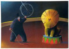 Best Entry of the European Union Constantin Sunnerberg Euro-Kartoenale 2013 'The Bicycle' Satirical Cartoons, Euro, Dinosaur Stuffed Animal, Bicycle, Animals, Bicycle Kick, Animais, Animales, Animaux
