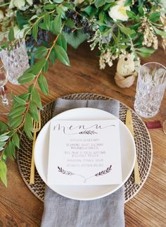 Neutral Garden Wedding Ideas