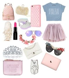 """""""The Cat is"""" by giraffe-garrison on Polyvore featuring New Look, Olympia Le-Tan, MICHAEL Michael Kors, Cara Accessories, Ray-Ban, Smashbox, Miss Selfridge, Bling Jewelry, Chanel and Anna-Karin Karlsson"""