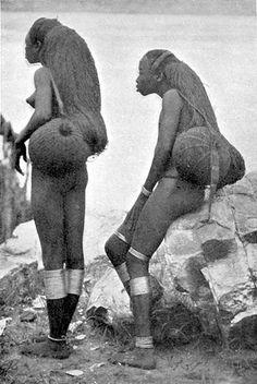 Sango (the Congo, cerca 1905) hair (19th/20th century Congolese fashion)