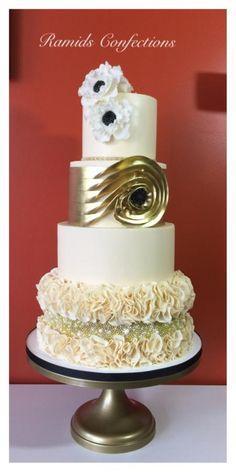 My Girl's Wedding Cake by Ramids - http://cakesdecor.com/cakes/248303-my-girl-s-wedding-cake