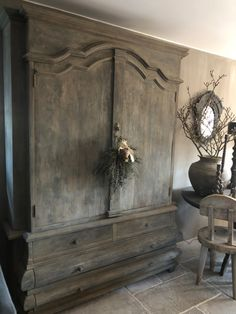 Home decor rustic Rustic Chic, Rustic Style, Rustic Decor, Farmhouse Decor, Painted Furniture, Furniture Design, Victorian Living Room, Deco Champetre, Muebles Shabby Chic