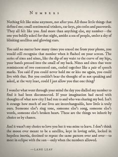 Numbers by Lang Leav True Love Quotes, Dream Quotes, Amazing Quotes, Pretty Words, Beautiful Words, Cool Words, Poetry Quotes, Mood Quotes, Life Quotes