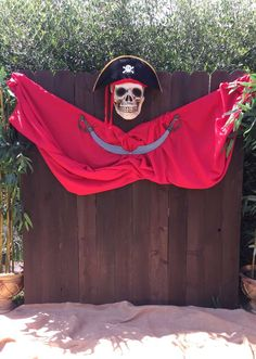 JDL Design and Event Planning's Birthday / Pirate / Island /Boys Party - Photo Gallery at Catch My Party Pirate Halloween Decorations, Pirate Halloween Party, Halloween Camping, Pirate Birthday, Birthday Boys, Deco Pirate, Pirate Boy, Pirate Theme, Pirate Photo Booth