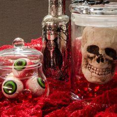 Desktop Halloween decorating ideas.