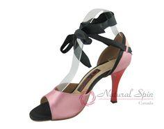 Natural Spin Tango Salsa Shoes/Tango Shoes/Fashion Shoes(Open Toe):  T1102-T27_P