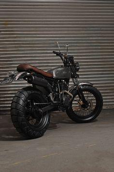 Custom Burner (Singapore) – Yamaha TW200 (Metal Slug)