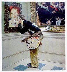Original Norman Rockwell Paintings | 2006-10-09 - Musée Norman Rockwell - Art Critic : Montréal a la ...