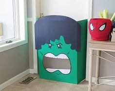FREE Printable Incredible Hulk Birthday Invitation ...