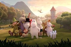 First look at the animated characters of Moominvalley TV series revealed : Moomin Animation Series, 3d Animation, Moomin Books, Hugo Pratt, Moomin Valley, Tove Jansson, Rosamund Pike, National Treasure