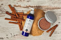 They restore the balance to your skin and cover your body in an exceptional aroma. Nourishing body scrub & Light moisturising balm