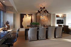 De Toren Interieurs - Penthouse met chique interieur - Hoog ■ Exclusieve woon- en tuin inspiratie.