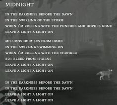 official Midnight lyrics tweeted by Coldplay 2/27/14