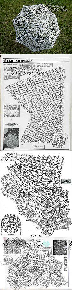 МК Вязаный зонт. Тонкости и подробности - Ярмарка Мастеров - ручная работа, handmade