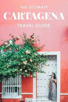 The Girlfriends& Guide to Cartagena, Colombia Planning to travel to Cartagena- Colombia& prettiest city? We& put together a list of our favorite things to do in Cartagena (including a foodie [& Machu Picchu, Ecuador, Colombia Travel, Countries To Visit, South America Travel, Columbia South America, Solo Travel, Travel Tips, Travel Plane