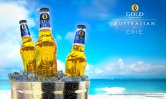 Fosters Gold /// Creative visuals and Advertising by Marco Serena, via Behance