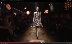 """""""LANVIN"""" Mode a Paris Autumn Winter 2014 2015 by Fashion Channel"""