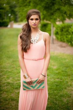 Fashionable Maxi dresses for summer 2014