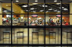 Houston Tunnel System- food court