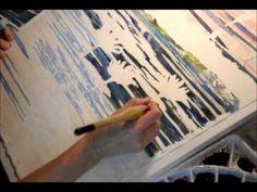 Watercolor Demo of Waterlilies Part 4