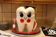 Graduating Tooth Cake