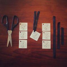 Atelier étiquettes.