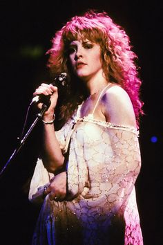 "crystallineknowledge: """"Stevie photographed by Lynn Goldsmith during 'The Wild Heart Tour' in 1983. "" """