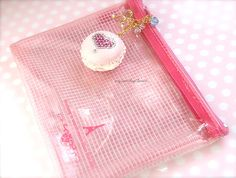 Macaron Pink Color Mesh Case for Phones & Ipods by Siawlei on Etsy, $26.20
