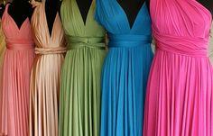 Long Multi-Way Dress | INFINITY Long MAXI Wrap Convertible Multi Way Dress by sugarbits, $75 ...