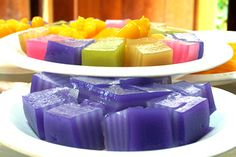 Khanom Chan (Multi-Layer Sweet) » Thai food Recipes