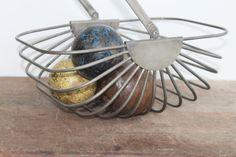 Vintage Godinger silver plate wire basket  Free by Brimfieldfinds, $35.00