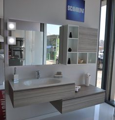 The #Scavolini #bathrooms furnishing system expresses an ...