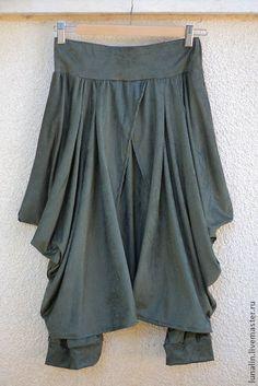 Boho stylish harem pants and skirt together. Bohemian by lunalin