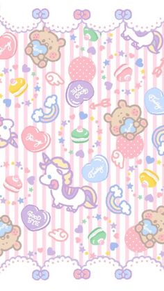 Cute ❤ Wallpaper discovered by ♡lovehoneybunch♡ Cute Backgrounds, Cute Wallpapers, Wallpaper Backgrounds, Iphone Wallpaper, Kawaii Wallpaper, Pastel Wallpaper, Kawaii Background, Hello Kitty Images, Sanrio Hello Kitty