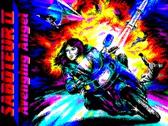 Indie Retro News: Gorgeous ZX Spectrum Art Work Recreated!