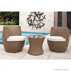 Stacking Vase 3pc Set   Natural   Buy Wicker Outdoor Furniture U0026 Outdoor  Furniture Sydney   Part 29