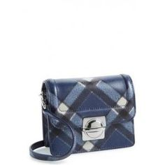 33% off Marc by Marc Jacobs - Leather Crossbody Bag Top Schooly Jax Blue Checker - $199.66