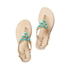 Beach Club Sandal ($188) ❤ liked on Polyvore featuring shoes, sandals, jewel sandals, leather strap sandals, flat shoes, summer shoes and fancy sandals
