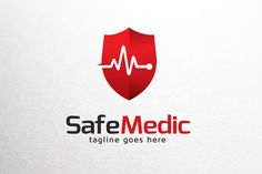 Safe Medic Logo Template by gunaonedesign on @creativemarket