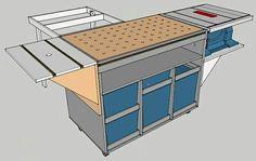 MFT inspired worktable for L-Boxx