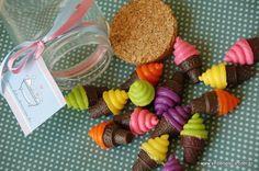 Mini Sorvetes - Sabonetes Artesanais da Shiboneteria