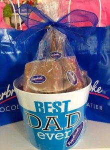 Yum for Father's Day #chocolate #labels #dad by @Peterbrooke Chocolatier of Winter Park
