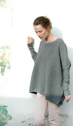 GREY JILL SWEATER by Plumo