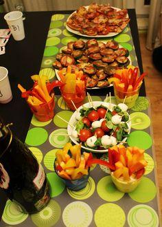 Kilka przepisów na tanie, dietetyczne przekąski na imprezę, na wieczór, między posiłkami, do filmu