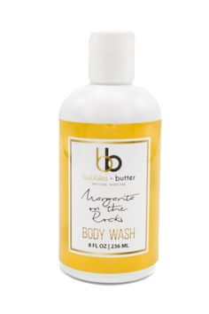 Margarita Rocks Body Wash - You work hard and play hard. You've got a full day ahead, but you don't need loud beeping alarms and aggressive soapy Margarita On The Rocks, Play Hard, Body Wash, Bubbles, Skin Care, Bottle, Shower Gel, Skincare Routine, Flask