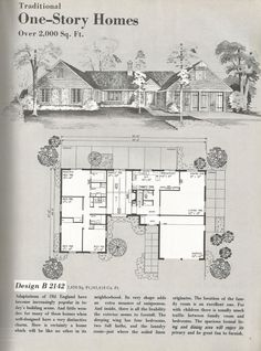 Vintage House Plans: Traditional Homes Over 2000 Square Feet | Antique Alter Ego