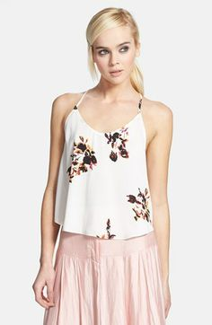 ASTR Ruffled Racerback Tank available at #Nordstrom